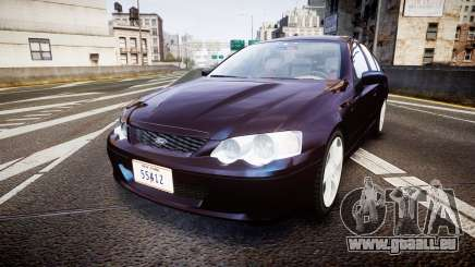 Ford Falcon XR8 2004 Unmarked Police [ELS] pour GTA 4
