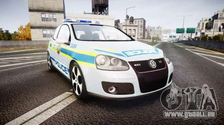 Volkswagen Golf South African Police [ELS] pour GTA 4