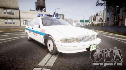Chevrolet Caprice Liberty Police v2 [ELS] für GTA 4