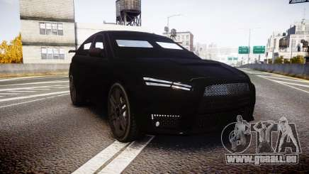GTA V Karin Kuruma Armored satin paint für GTA 4