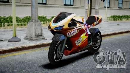 Bike Bati 2 HD Skin 1 pour GTA 4