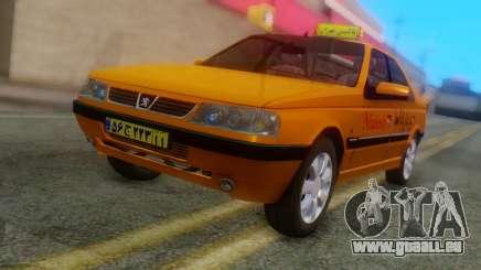 Peugeot 405 Slx Taxi für GTA San Andreas