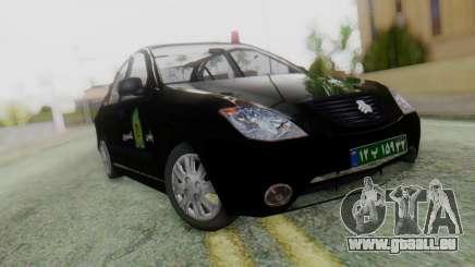 SAIPA Tiba Police v1 pour GTA San Andreas
