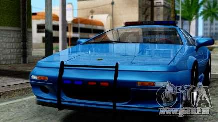 Lotus Esprit S4 V8 1998 Police Edition für GTA San Andreas