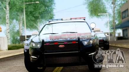 GTA 5 Vapid Police Interceptor v2 IVF für GTA San Andreas