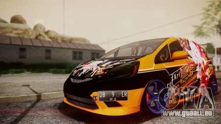 Honda Fit Street Modify Inori Yuzuriha Itasha für GTA San Andreas