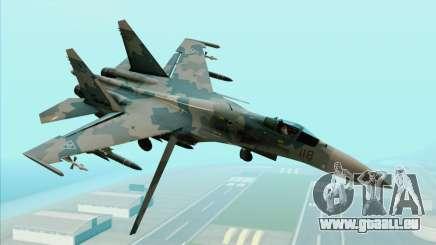 Sukhoi SU-35BM Mobius Squadron pour GTA San Andreas