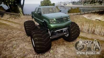 Albany Cavalcade FXT Monster Truck für GTA 4
