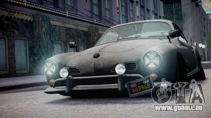 Volkswagen Karmann Ghia 67 (Slammed Rat) pour GTA 4