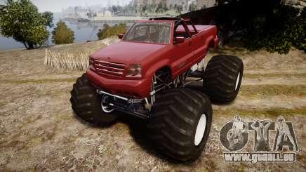 Albany Cavalcade FXT Cabrio Monster Truck für GTA 4