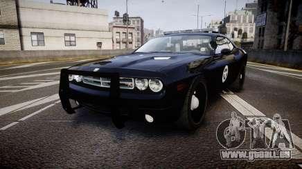 Dodge Challenger Marshal Police [ELS] pour GTA 4