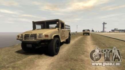 GTA 5 Millitary Patriot für GTA 4