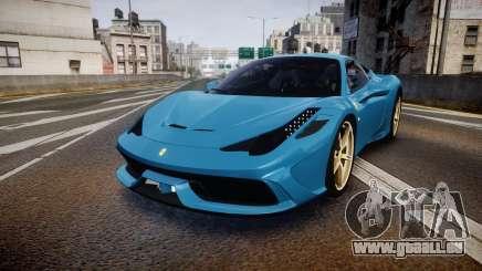 Ferrari 458 Speciale 2014 für GTA 4
