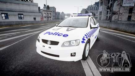 Holden Commodore Omega NSWPF [ELS] für GTA 4