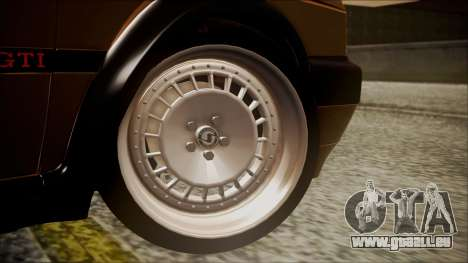 Volkswagen Golf Mk2 Schmidt TH Line pour GTA San Andreas sur la vue arrière gauche