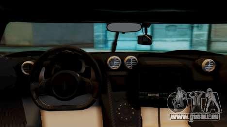 NFS Rivals Koenigsegg Agera R Enforcer pour GTA San Andreas vue de droite