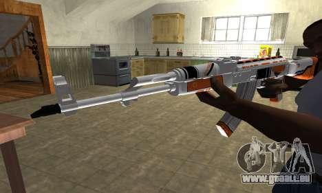 AK-47 Asiimov für GTA San Andreas zweiten Screenshot
