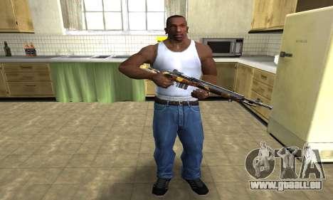 Gold Rifle für GTA San Andreas dritten Screenshot