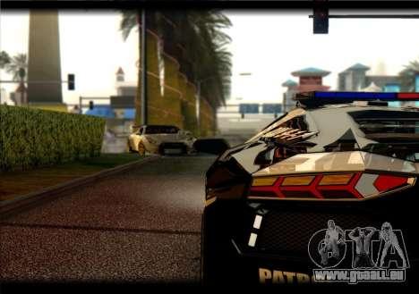 Nissan GTR-R35 Rocket Bunny pour GTA San Andreas vue de droite