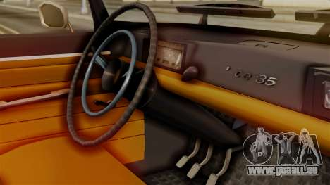Peugeot 404 pour GTA San Andreas vue de droite