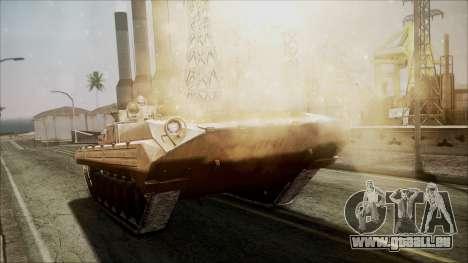 Call of Duty 4: Modern Warfare BMP-2 für GTA San Andreas rechten Ansicht