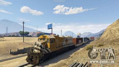 GTA 5 Railroad Engineer 3 cinquième capture d'écran