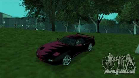 ZR-350 Double Lightning für GTA San Andreas Motor