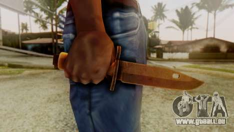 Combat Knife pour GTA San Andreas troisième écran