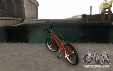 BMX HD pour GTA San Andreas laissé vue
