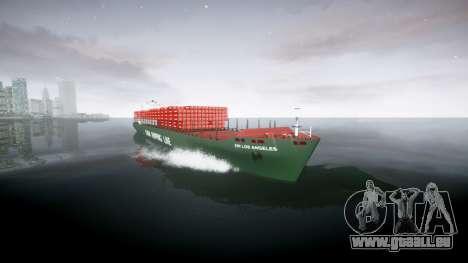 Un navire porte-conteneurs pour GTA 4