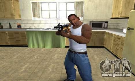 Gold Rifle pour GTA San Andreas deuxième écran