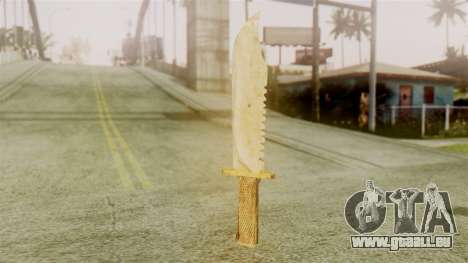 Red Dead Redemption Knife Legendary Assasin für GTA San Andreas