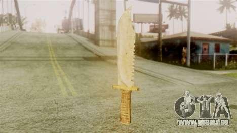 Red Dead Redemption Knife Legendary Assasin für GTA San Andreas