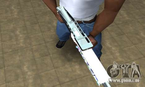 Graf Spas-12 pour GTA San Andreas deuxième écran