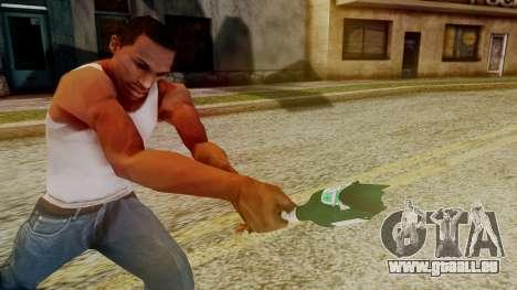 GTA 5 Broken Bottle v1 pour GTA San Andreas troisième écran
