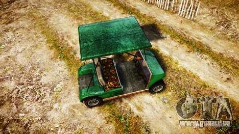 GTA V Nagasaki Caddy für GTA 4 rechte Ansicht