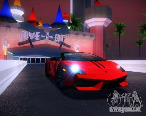 Sparkle ENB pour GTA San Andreas deuxième écran