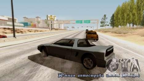 Physics from Forza Motorsport 5 pour GTA San Andreas quatrième écran