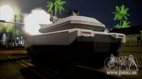 PL-01 Concept Desert pour GTA San Andreas laissé vue