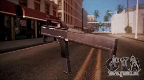 FMG-9 from Battlefield Hardline pour GTA San Andreas deuxième écran