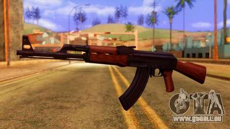 Atmosphere AK47 pour GTA San Andreas