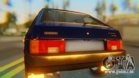 VAZ 2108 Stoke pour GTA San Andreas vue arrière