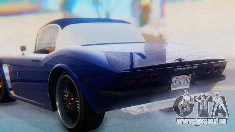 Invetero Coquette BlackFin v2 GTA 5 Plate pour GTA San Andreas vue de dessus
