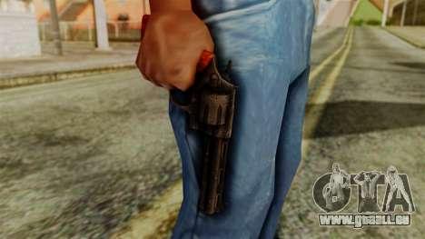 Colt Revolver from Silent Hill Downpour v2 pour GTA San Andreas troisième écran
