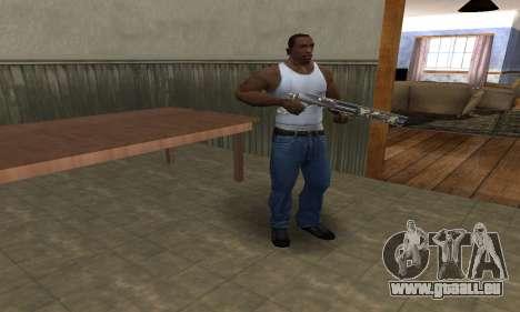 Militarry Shotgun pour GTA San Andreas deuxième écran