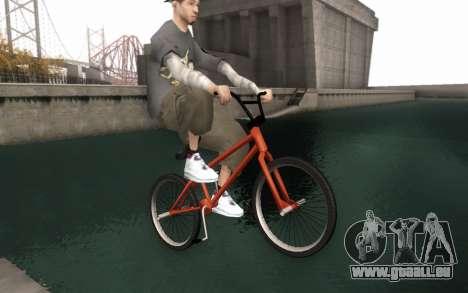 BMX HD pour GTA San Andreas vue de droite