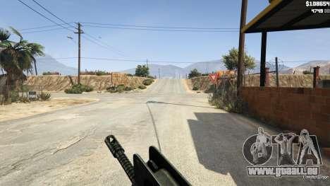 GTA 5 Famas F1 deuxième capture d'écran