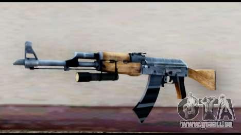 AK-47 von L4D2 für GTA San Andreas