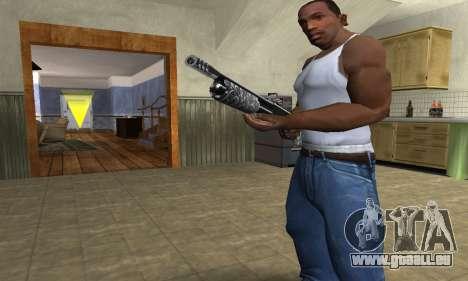 Sawn-Off Shotgun pour GTA San Andreas deuxième écran
