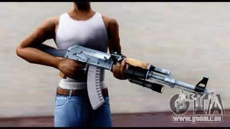 AK-47 von L4D2 für GTA San Andreas dritten Screenshot